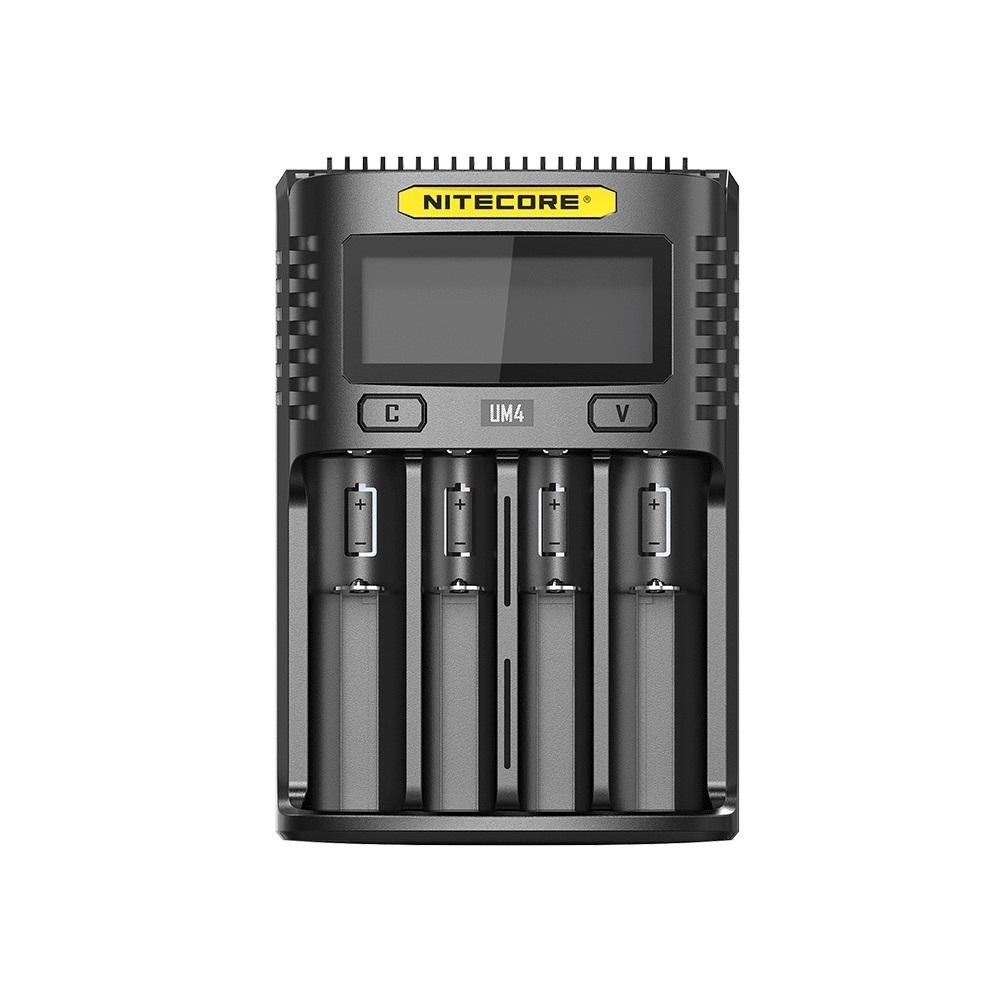 Nitecore UM4 4 Bay USB Battery Charger