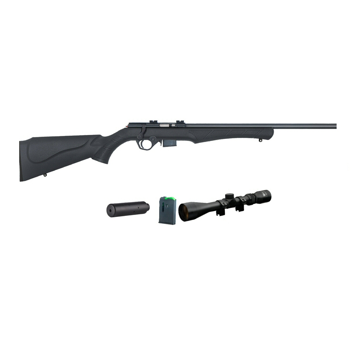 Rossi 17HMR Bolt Action Combo