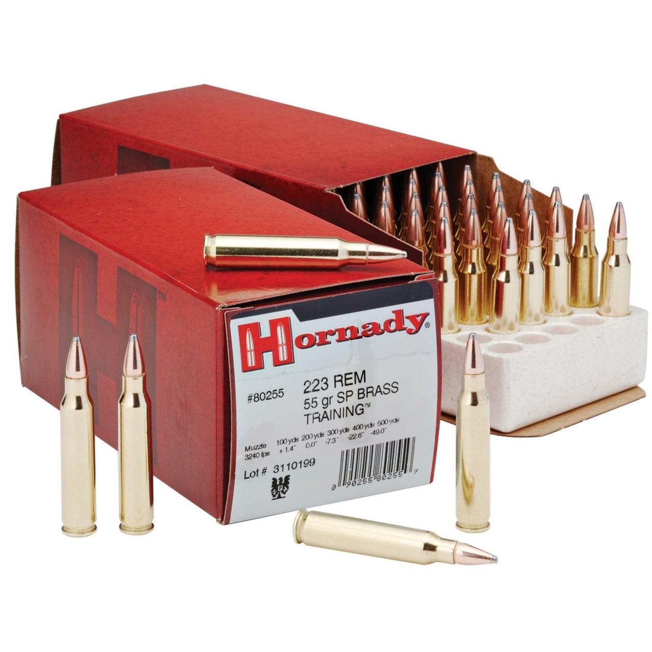 Hornady 223 Rem 55gr SP Custom Rifle