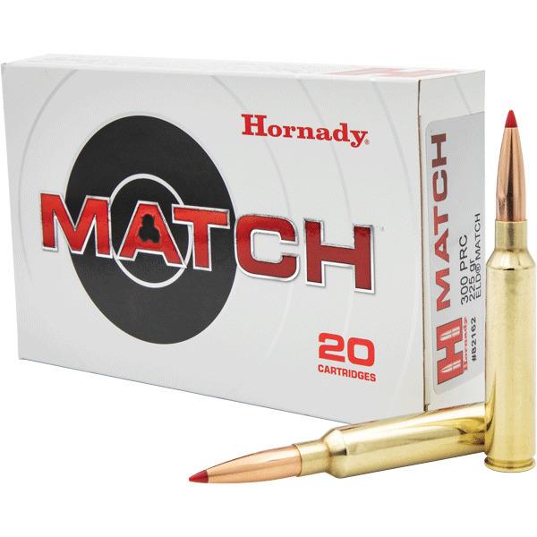 Hornady 300 PRC 225gr ELD Match