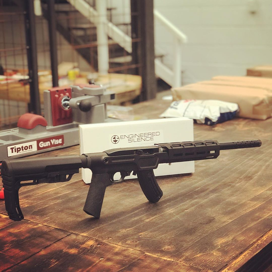 Engineered Silence 10/22 Takedown Chassis