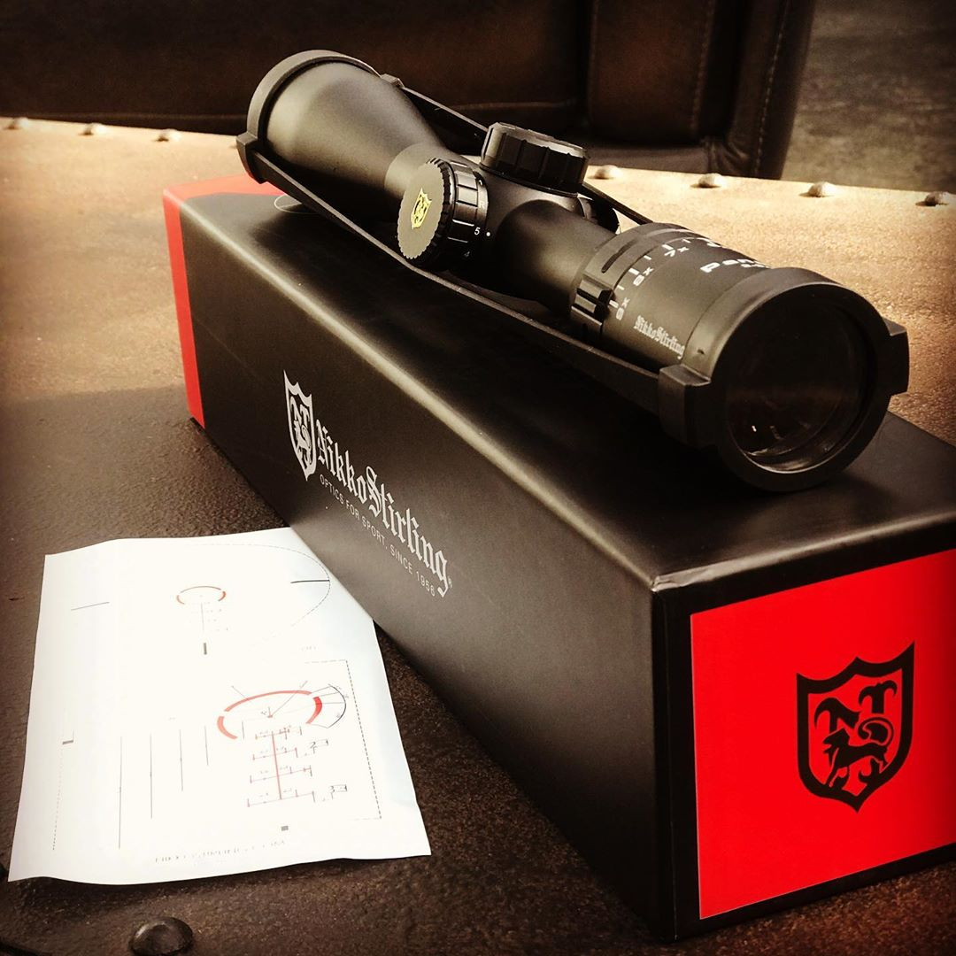A Dedicated 300blk Riflescope for the Subsonic Round