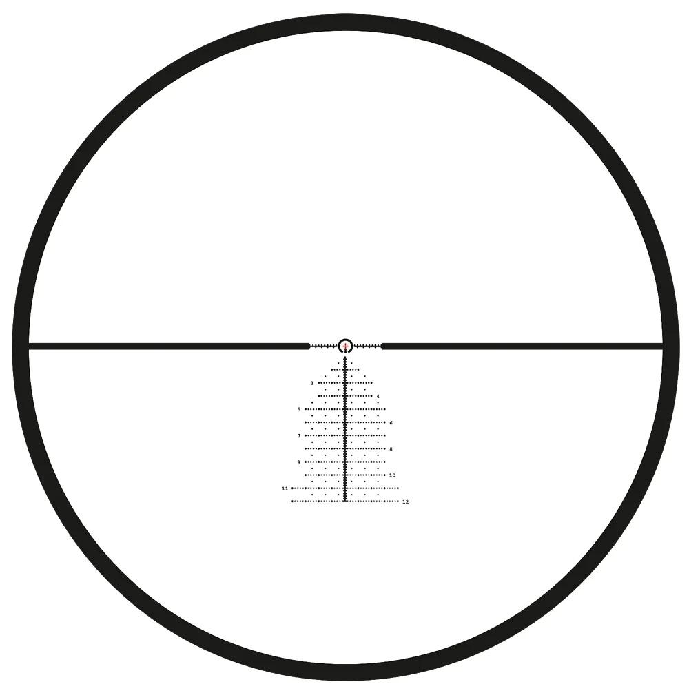 Meopta Optika6 4.5-27×50 Illuminated MRAD 30mm FFP Riflescope