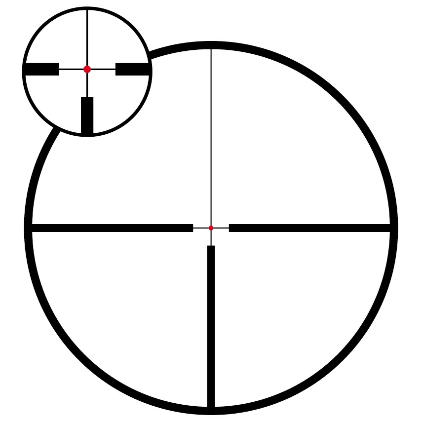 Meopta Optika6 3-18×50 Illuminated 4C 30mm SFP Riflescope