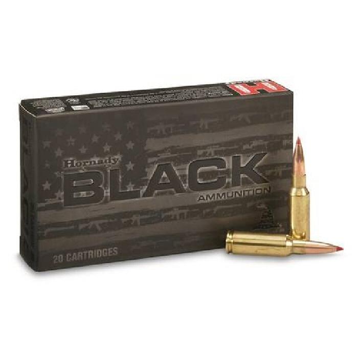 Hornady 6.5 Grendel 123gr ELD Match Black