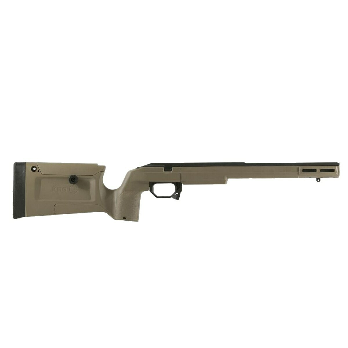 KRG Bravo Rifle Chassis Tikka T1X Rimfire FDE