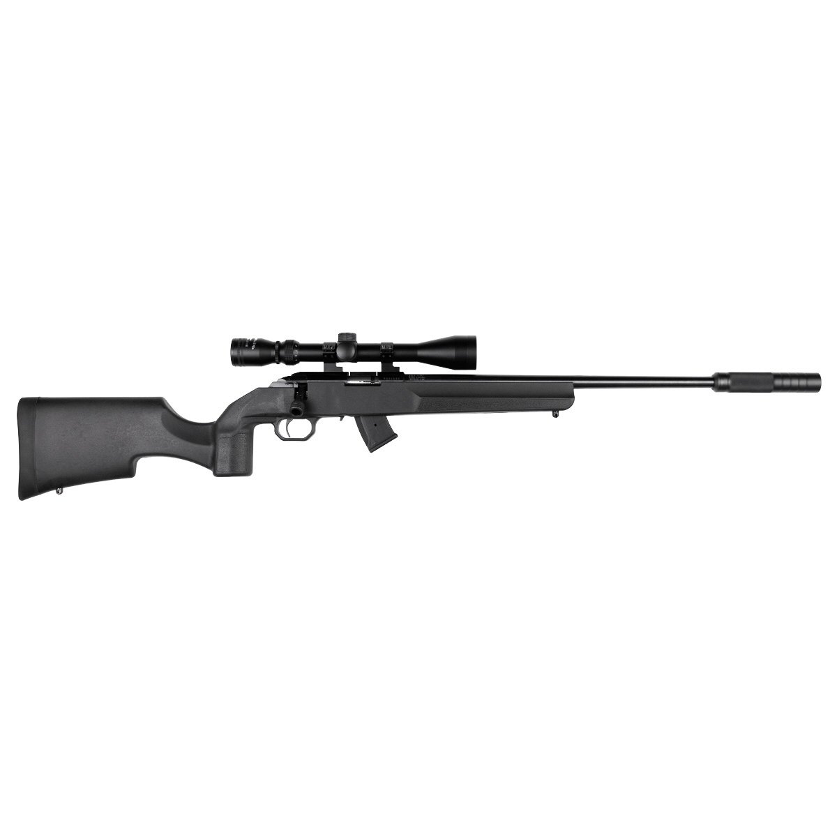 Howa M1100 22LR Scoped Suppressed Package