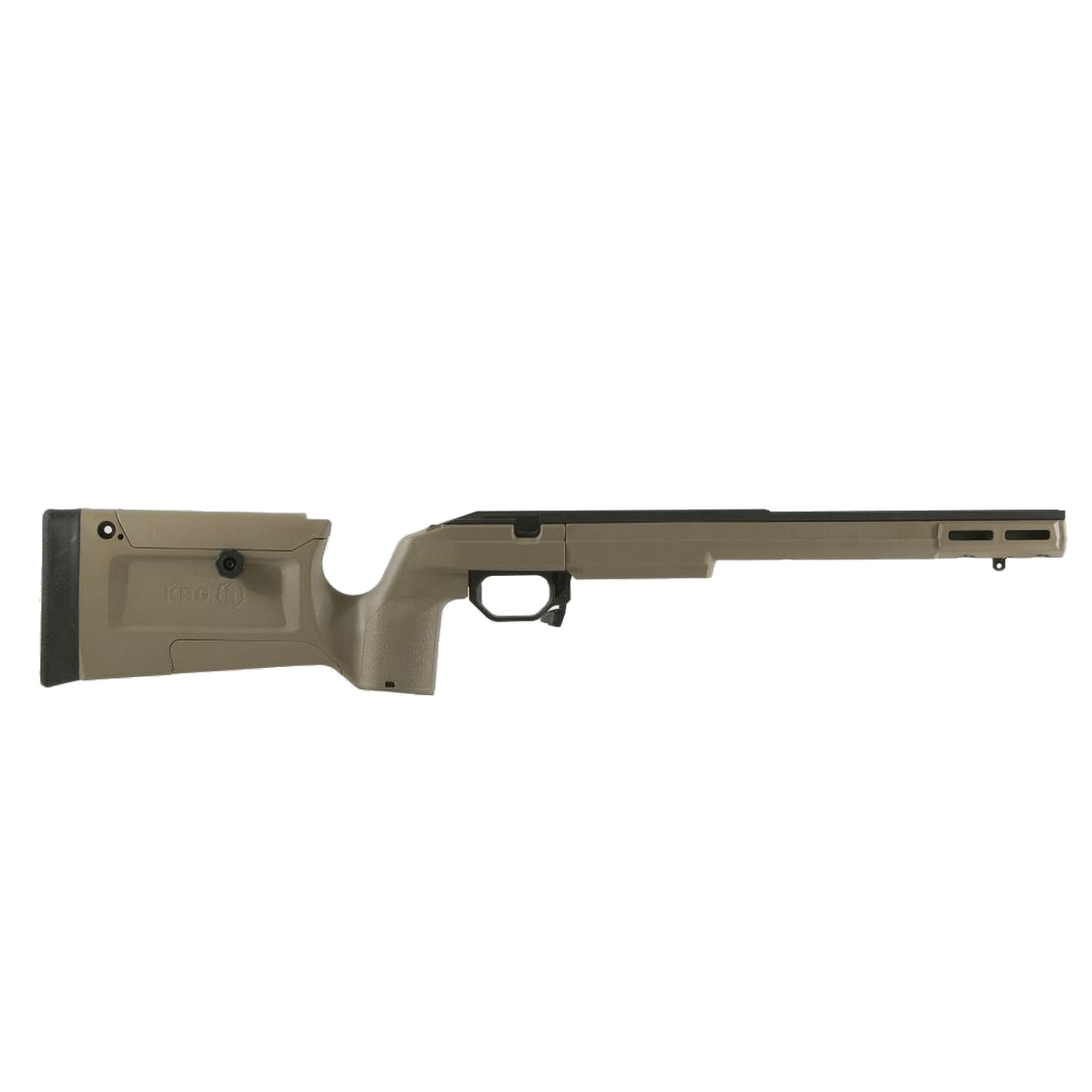 KRG Bravo Rifle Chassis Howa Short Action FDE