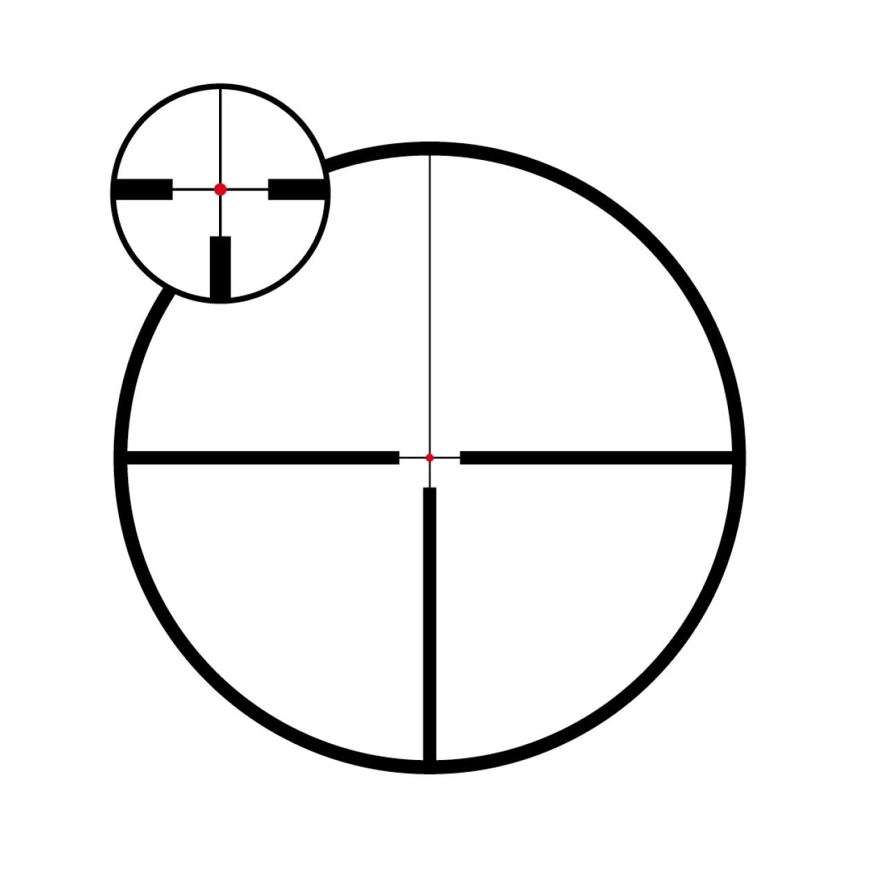 Meopta Optika6 2.5-15×44 Illuminated 4C 30mm SFP Riflescope