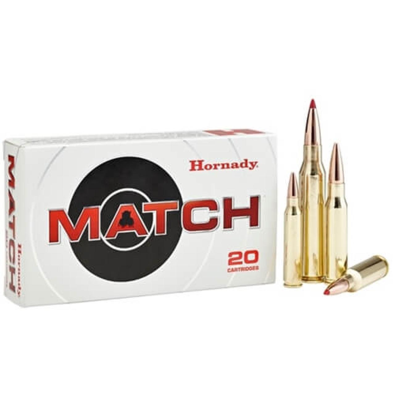 Hornady 308 Win 168gr BTHP Match