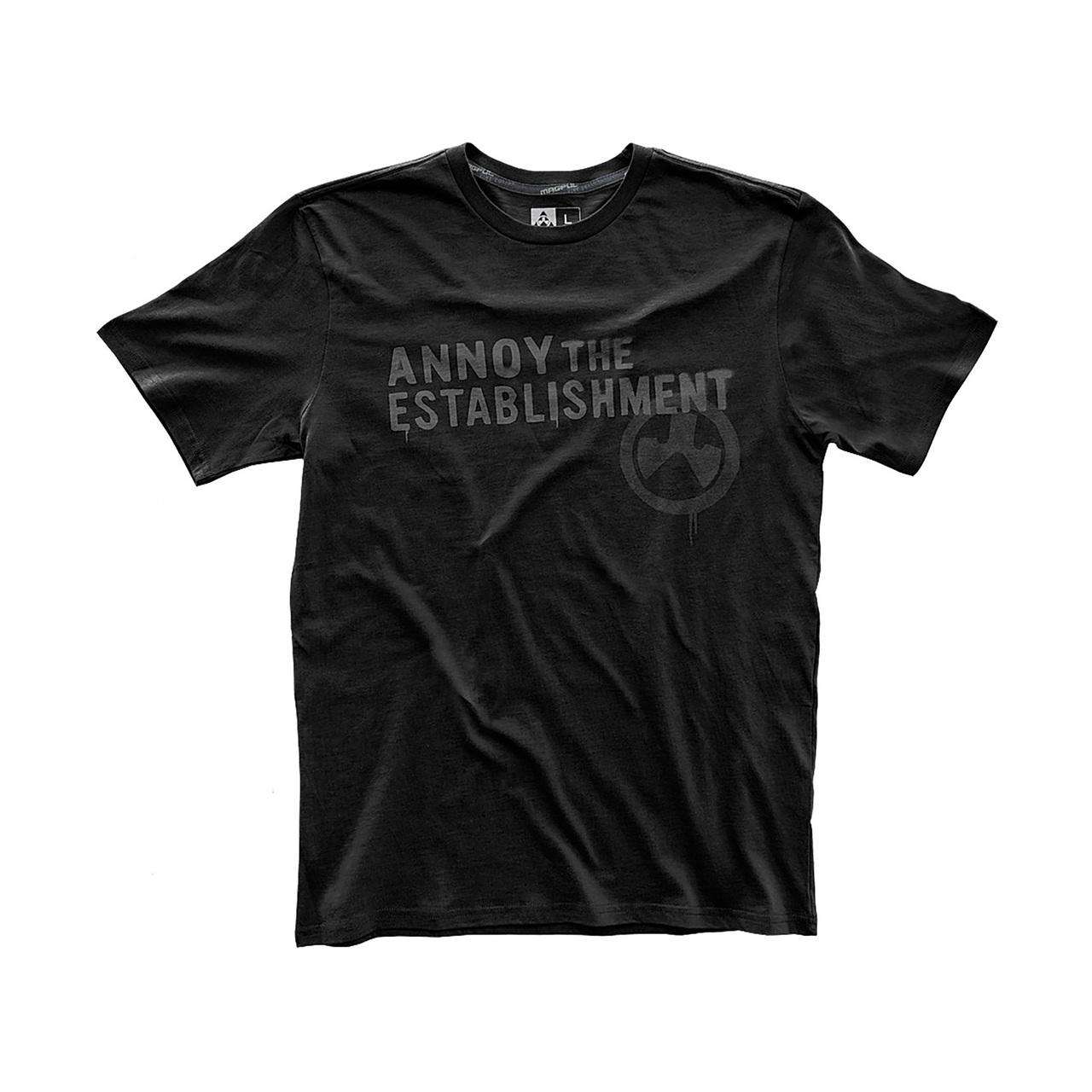 Magpul Fine Cotton Annoy The Establishment T Shirt X-Large