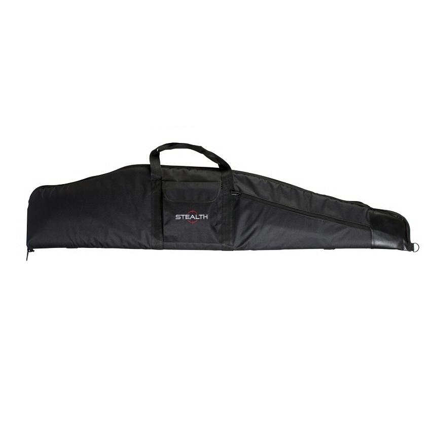 "Stealth Rifleman Camo Gun Bag With Shoulder Strap Pocket 52"""