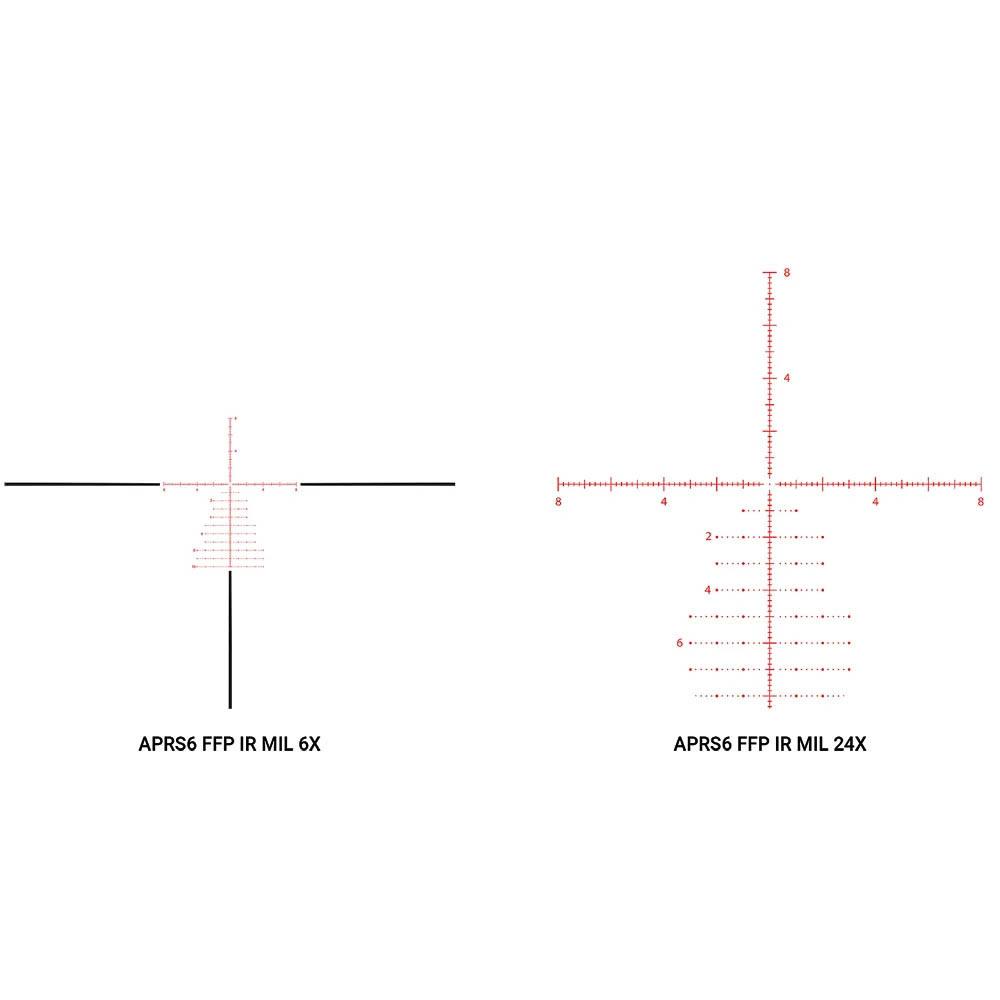 Athlon Helos BTR GEN2 6-24x56mm APRS6 FFP IR MIL