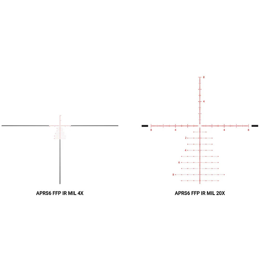 Athlon Helos BTR GEN2 4-20x50mm APRS6 FFP IR MIL