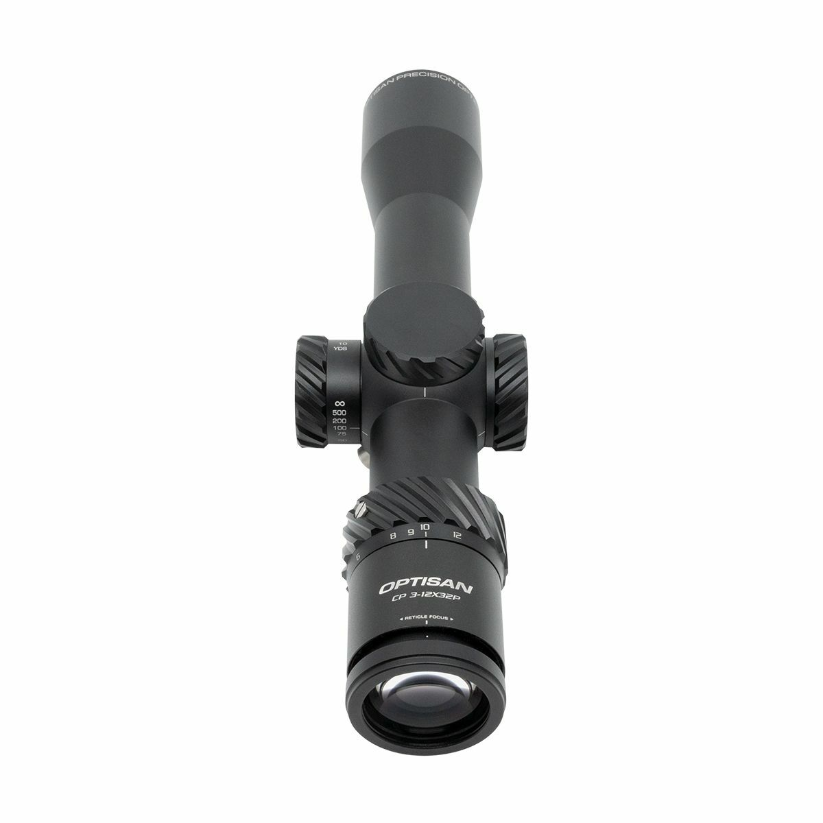 Optisan CP Compact 3-12x32 SFP MIL Non-Illuminated