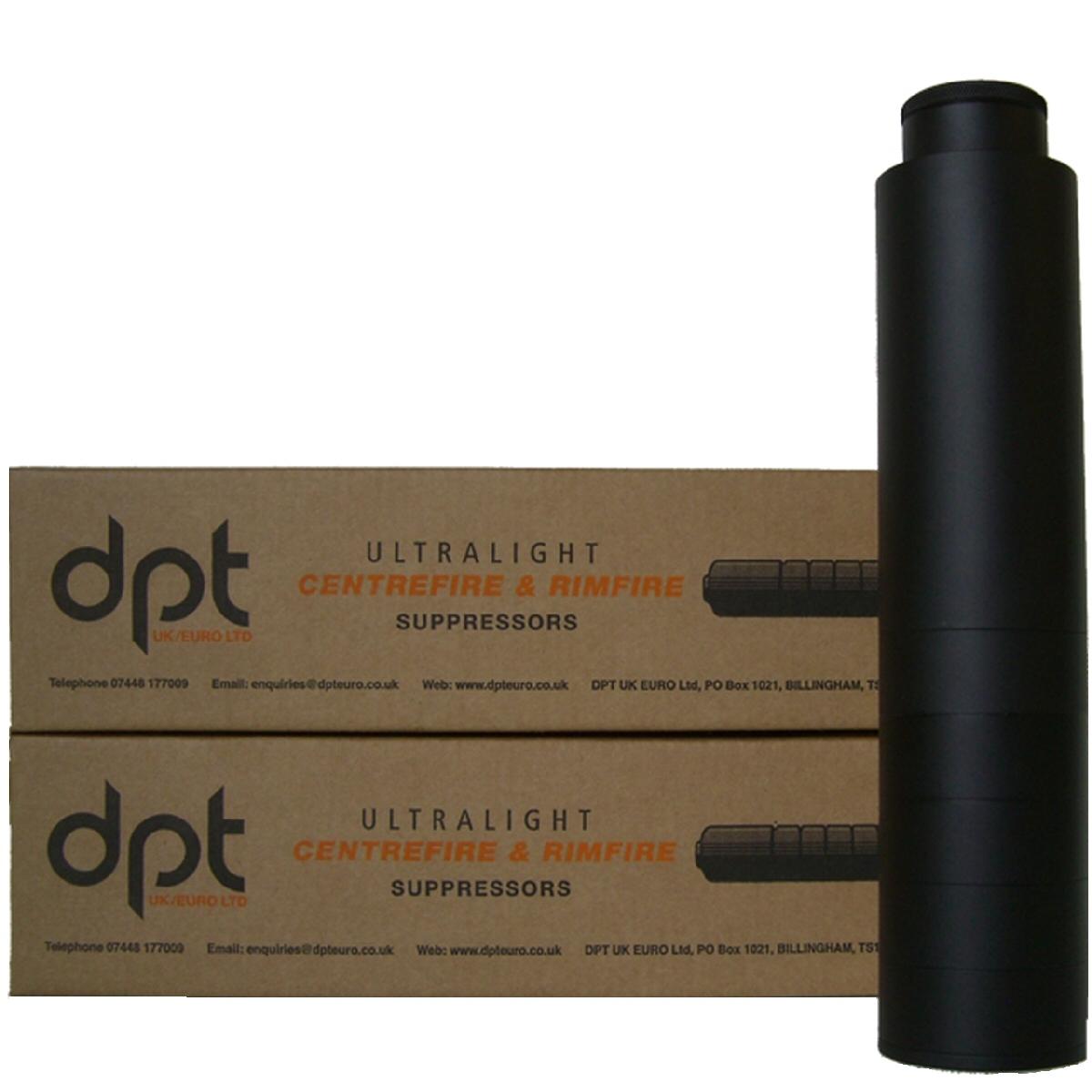 DPT Suppressor Rimfire 22 Cal 1/2x28