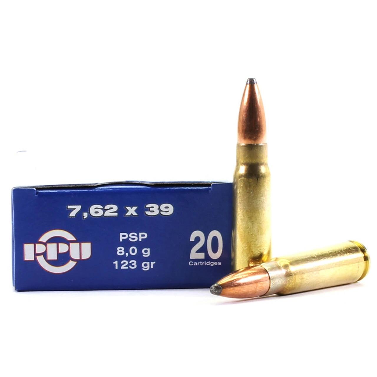 Prvi Partizan 7.62×39 123G SP