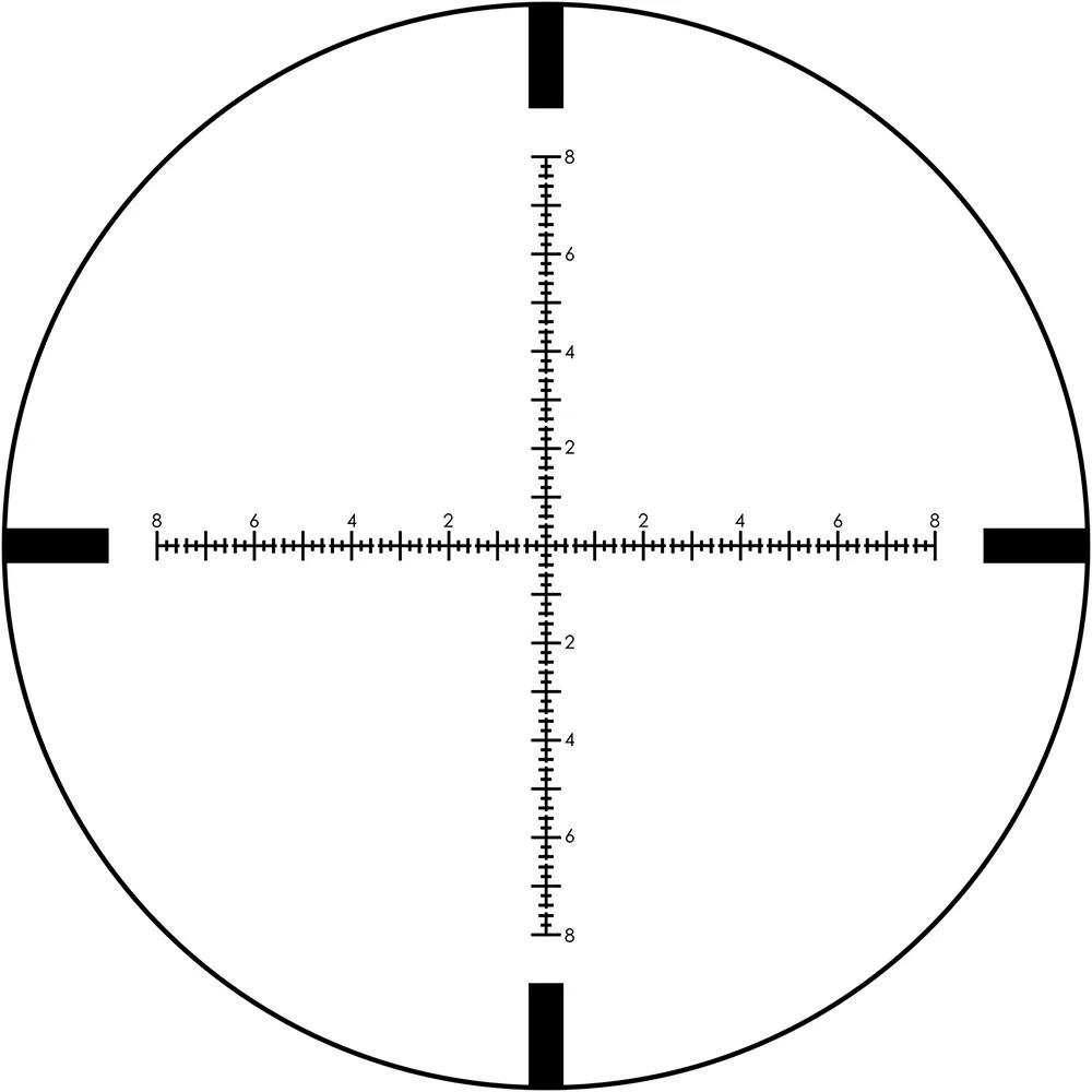 Nikon Black 4-16x50 FFP MRAD Riflescope