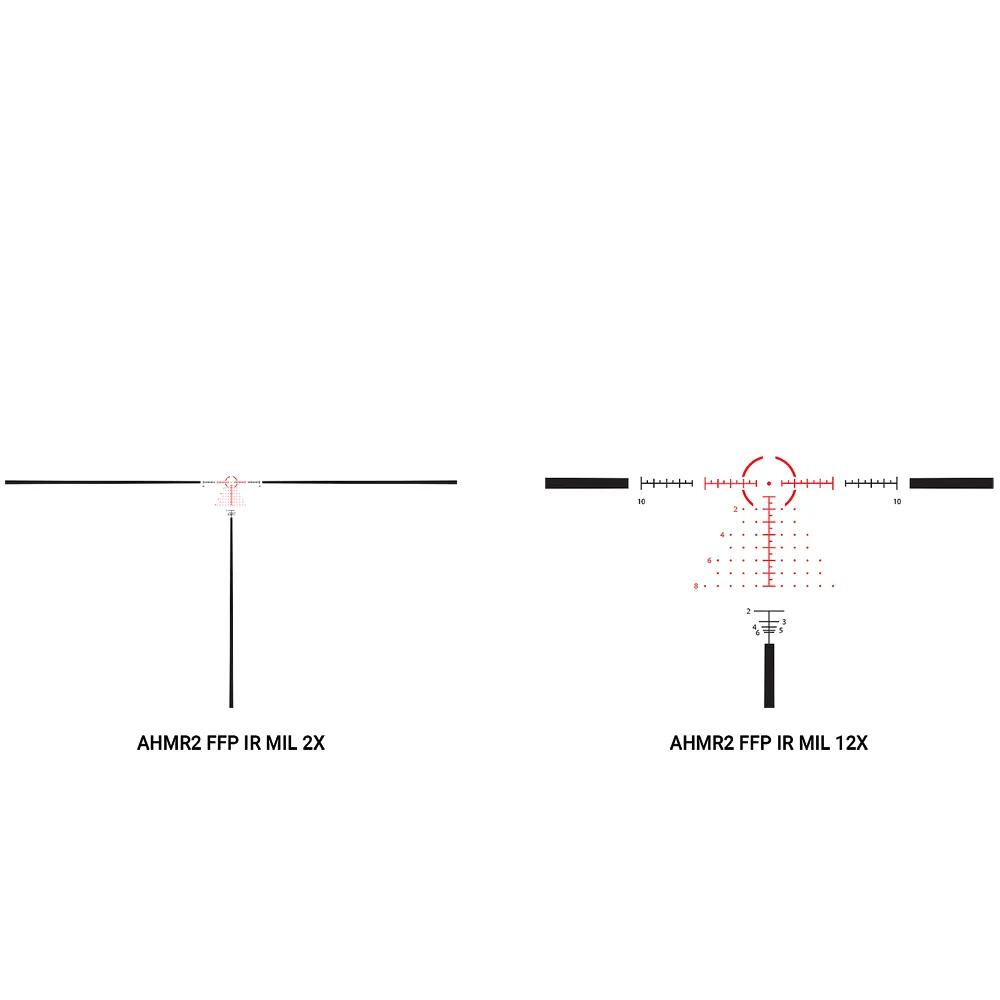 Athlon Helos BTR Gen2  2-12×42 AHMR2 FFP IR MIL