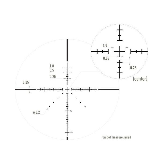 Optisan CP Compact 3-12×32 SFP MIL Non-Illuminated