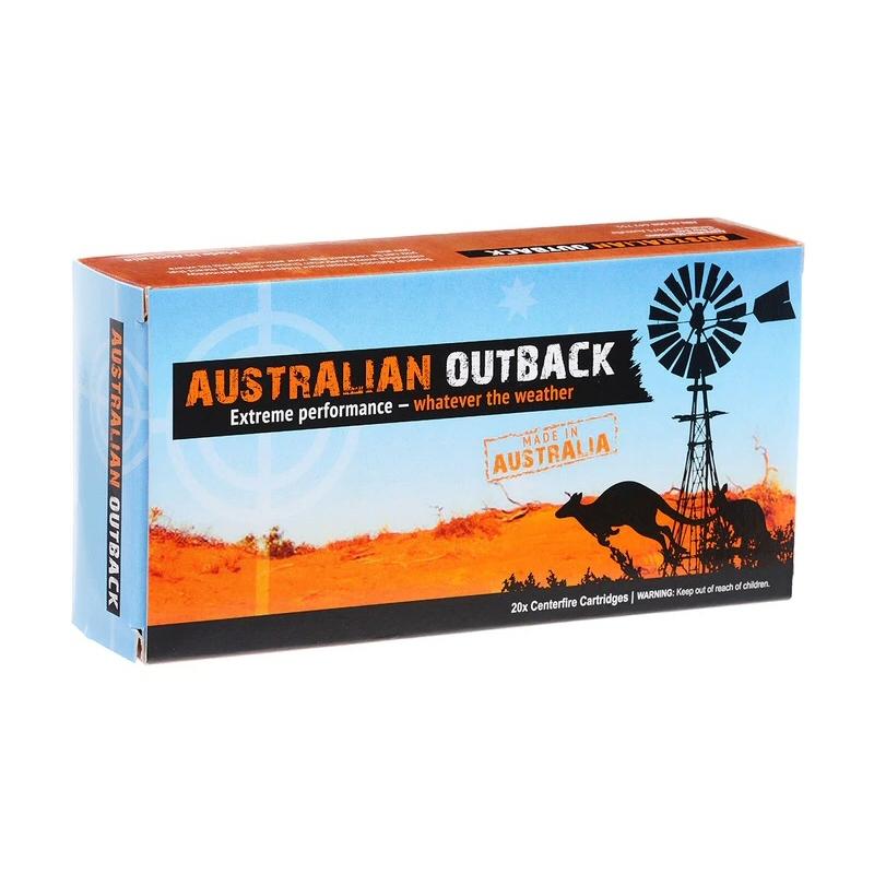 Australian Outback 243 Win 87gr Hornady V-Max