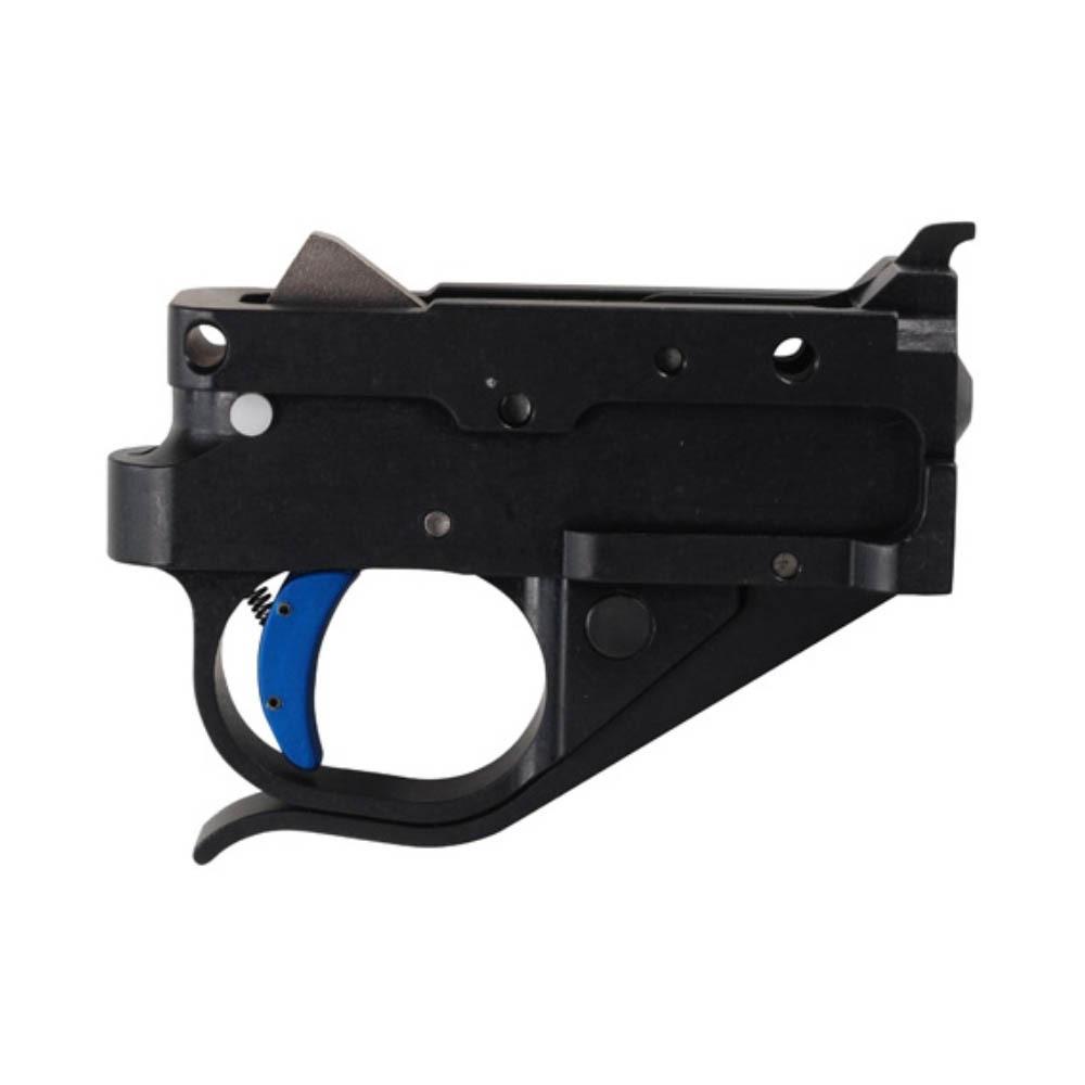 Timney Ruger 10/22 trigger Black Housing Blue Trigger Shoe