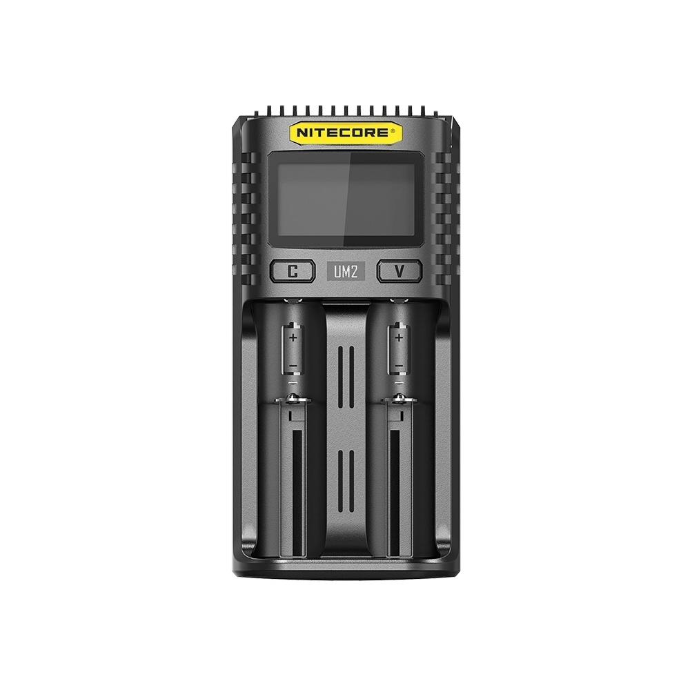 Nitecore UM2 2 Bay USB Battery Charger