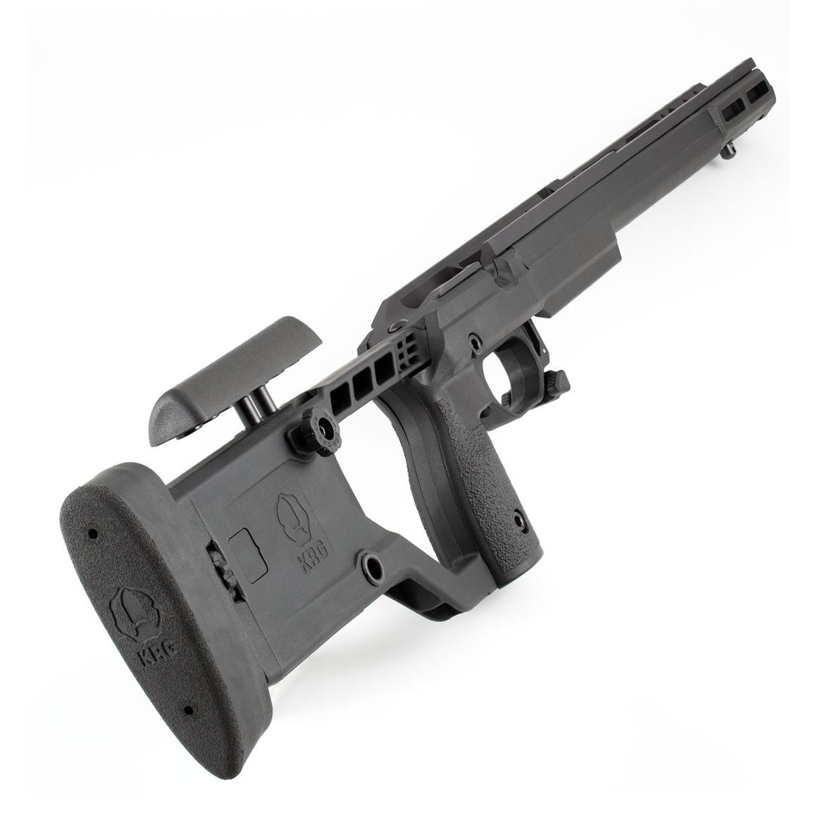 KRG X-Ray Rifle Chassis Tikka T3 Black