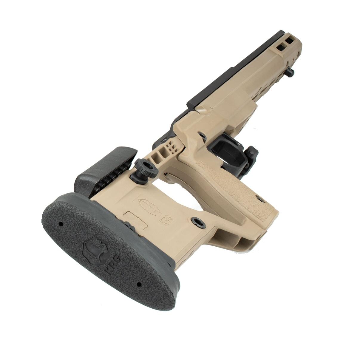 KRG X-Ray Rifle Chassis Remington 700 SA FDE