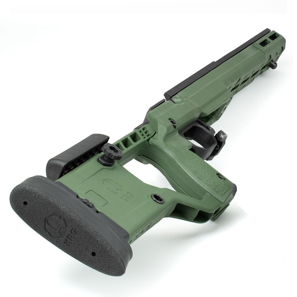 KRG X-Ray Rifle Chassis Tikka T3 Green